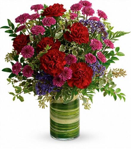 Photo of flowers: Vivid Love Bouquet  TEV55-4