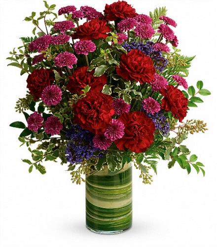 Photo of flowers: Vivid Love Bouquet