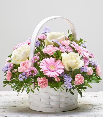 Photo of flowers: CELEBRATION BASKET