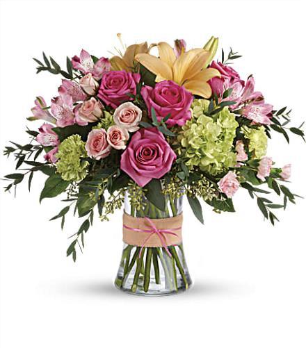Photo of flowers: Blush Life Bouquet TEV56-3