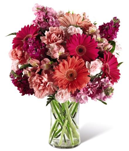 Photo of flowers: Blushing BeautyBouquet