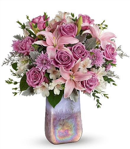 Photo of flowers: Stunning Swirls Vase Bouquet