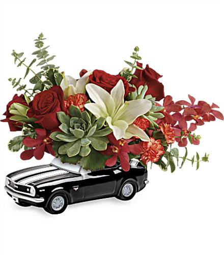 Photo of flowers: Chevy Camaro Bouquet