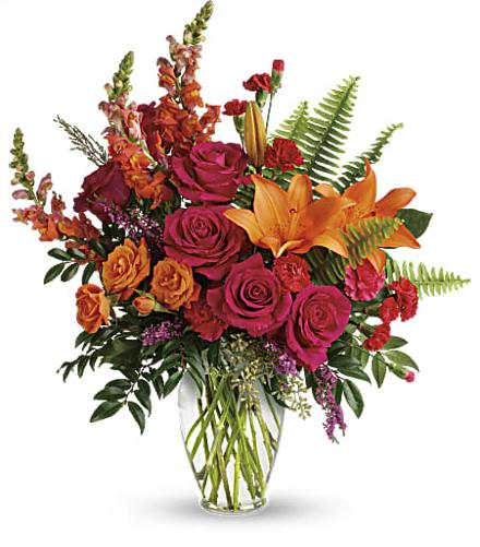 Photo of flowers: Punch Of Color Bouquet TEV56-2