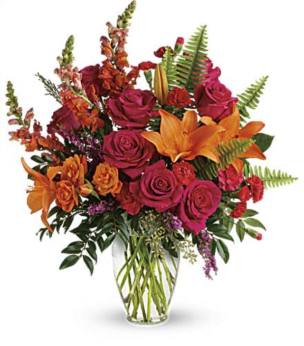 Photo of flowers: Punch Of Color Bouquet