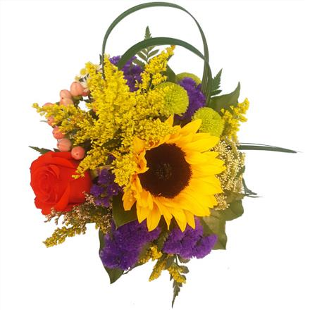 Photo of flowers: Sure Is Pretty in Cube Vase  BF11164