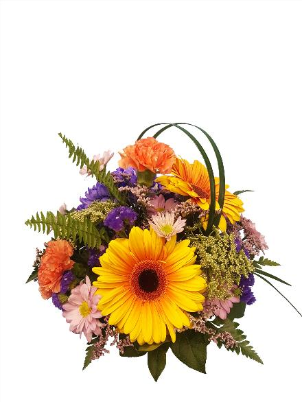 Photo of flowers: Perfect Beauty in Cube vase  BF11190