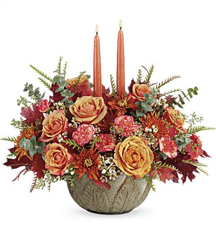 Photo of flowers: Artisanal Autumn Centerpiece