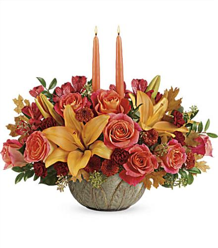 Photo of flowers: Artistic Glow Centerpiece