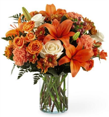 Photo of flowers: Falling for Autumn Bouquet B45