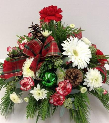 Photo of flowers: Holiday Bright - Brant Florist