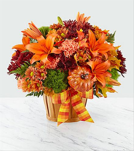 Photo of flowers: Autumn Celebration Basket