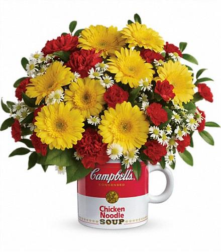 Photo of flowers: Campbell's Healthy Wishes