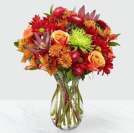 Photo of flowers: Amber Influence Bouquet