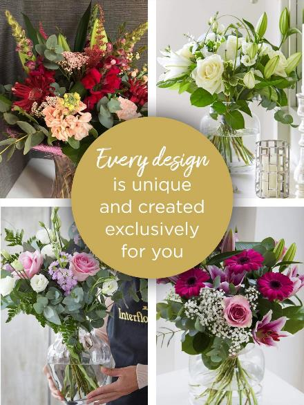 Photo of flowers: Florist Choice with Vase