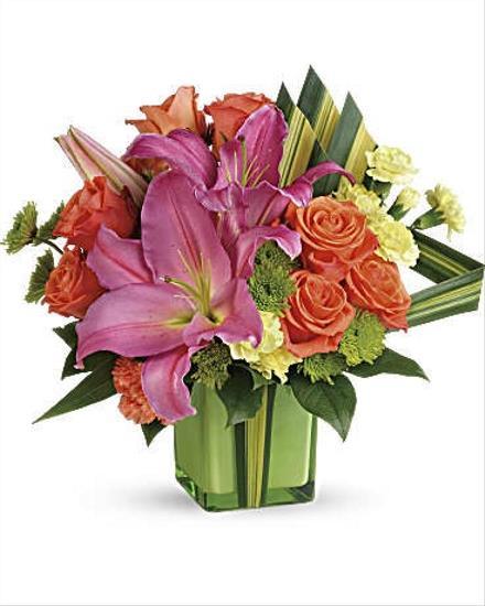 Photo of flowers: Color Me Cute Bouquet