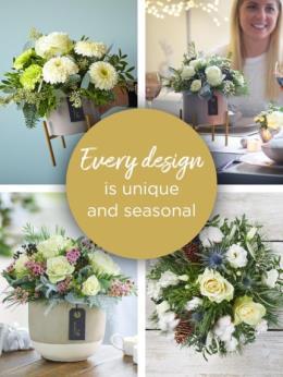 Photo of flowers: Winter Florist's Choice Floral Arrangement