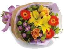 Photo of Fall Cut Flowers No Vase  - BF1158