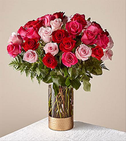 Photo of flowers: Rose Colored Love Bouquet