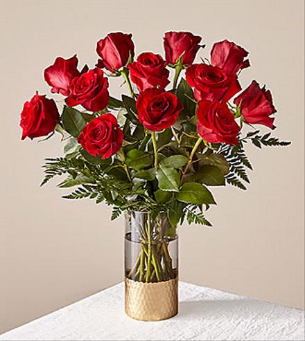 Photo of flowers: Gorgeous Red Rose Bouquet