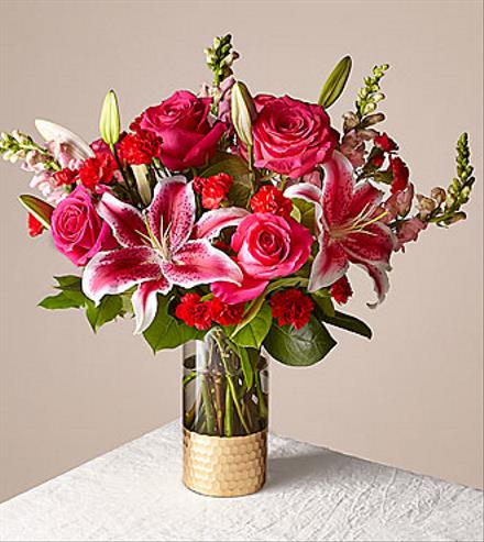 Photo of flowers: Be Mine Bouquet