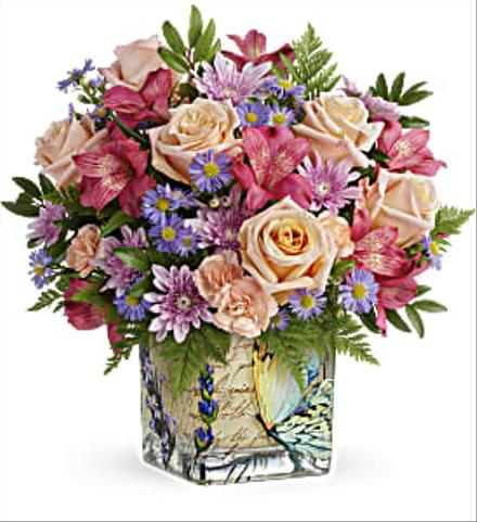 Photo of flowers: Sophisticated Whimsy Bouquet