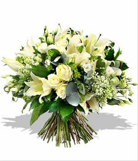 Photo of flowers: Hand Tied Gift Wrapped