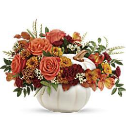 Photo of flowers: Teleflora's Enchanted Harvest Bouquet