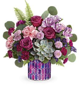 Photo of flowers: Teleflora's Bedazzling Beauty Bouquet