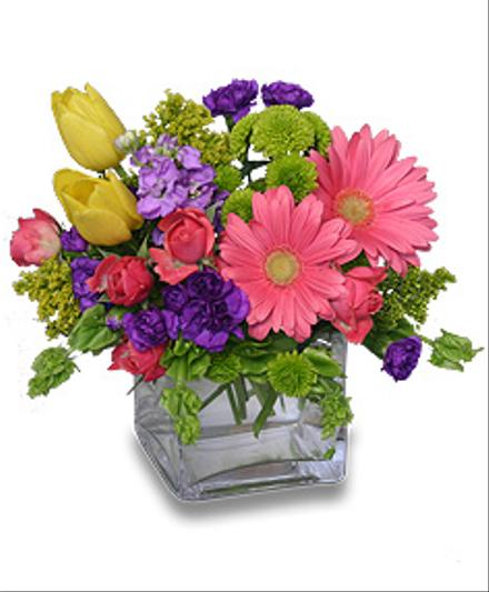 Photo of flowers: Confetti Floral Gift