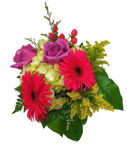 Photo of flowers: Hot Colors - Centerpiece