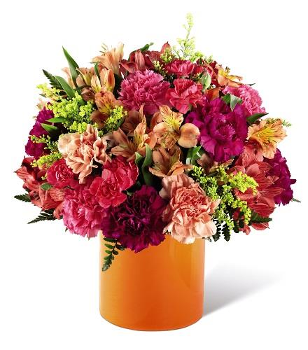 Photo of flowers:  All Is Bright Bouquet