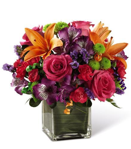 Photo of flowers: Birthday Best Bouquet D2-5189