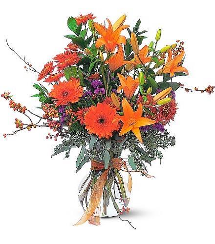 Photo of flowers: Halloween Harvest
