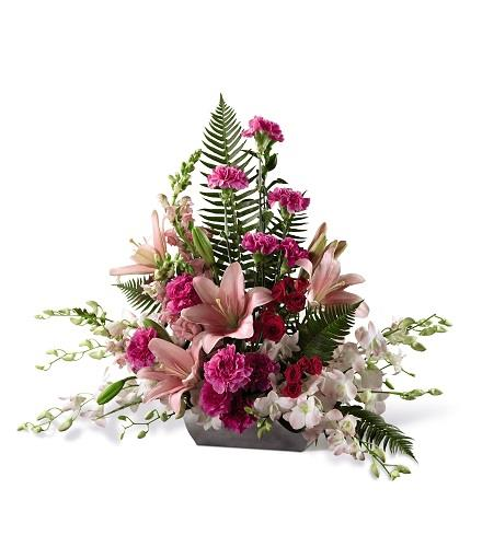 Photo of flowers: Uplifting Moments Arrangement s15-4988