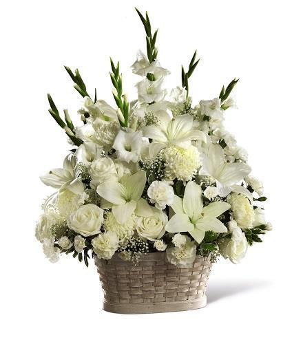 Photo of flowers: Peaceful Passage Arrangement