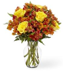 Photo of Golden Autumn Bouquet - B31