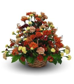Photo of Fall Side Table Arrangement - BF1266