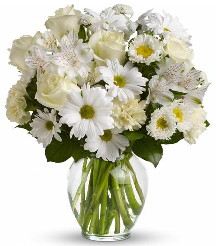 Photo of flowers: Purest Intentions Bouquet