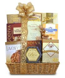 Photo of Golden Gourmet Basket Finest Treats - C1217