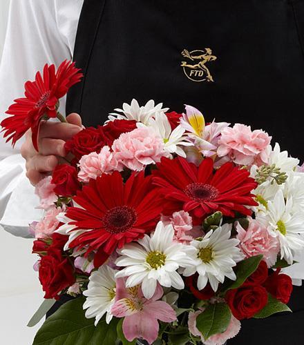 Photo of flowers: The Florist Designed Bouquet