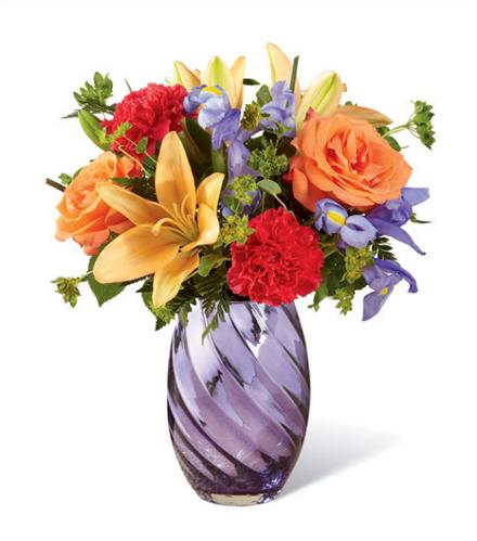 Photo of BF2026/17-S4 (Approx. 8 Stems - Vase Included)