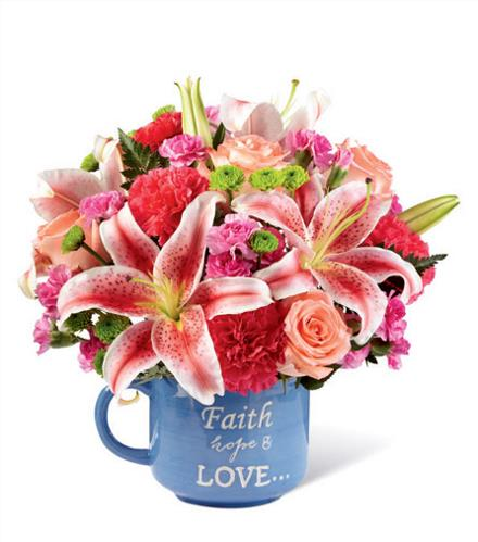 Photo of flowers: Be Loved Keepsake Mug