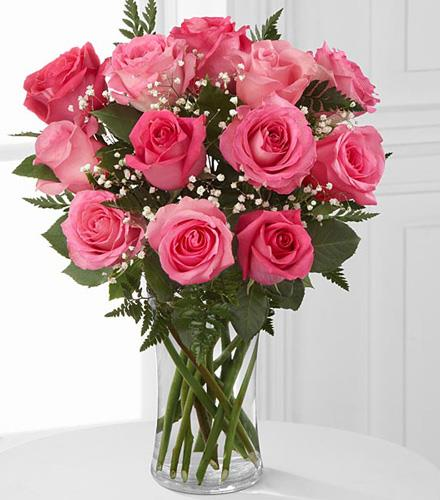 Photo of BF2036/FA58 (12 Stems - includes vase)
