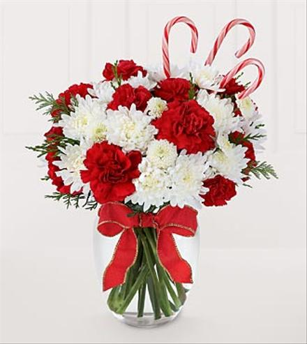 Photo of flowers: Candied Christmas Bouquet