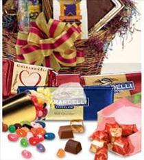 Photo of flowers: Candy and Chocolate Gift Basket
