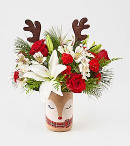 Photo of flowers: Stunning Style Vase Bouquet 18-C8