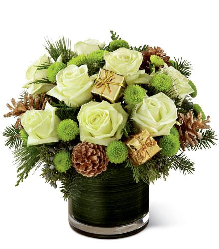 Photo of flowers: Season's Sparkle Bouquet by FTD