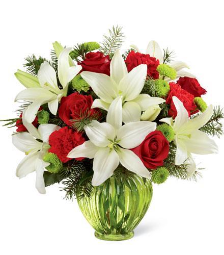 Photo of flowers: Winter Elegance Bouquet FTD