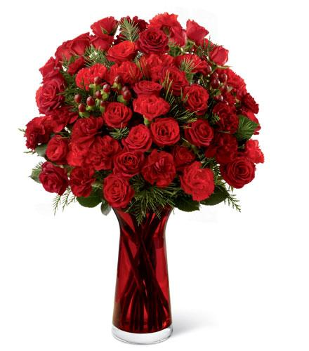 Photo of flowers: Spirit of the Season in Vase FTD